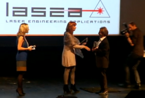 Lasea reçoit le Prix Tremplin à l'Exportation 2014