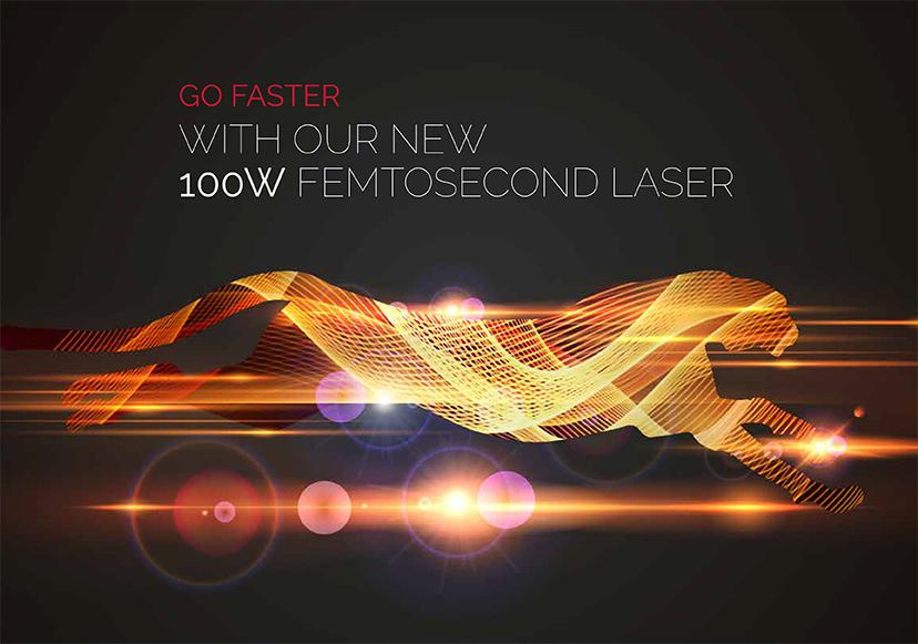 Datasheet «New laser source 100W – 300µJ»