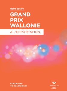 LASEA has received the First Award of the Wallonia Export Competition 2018