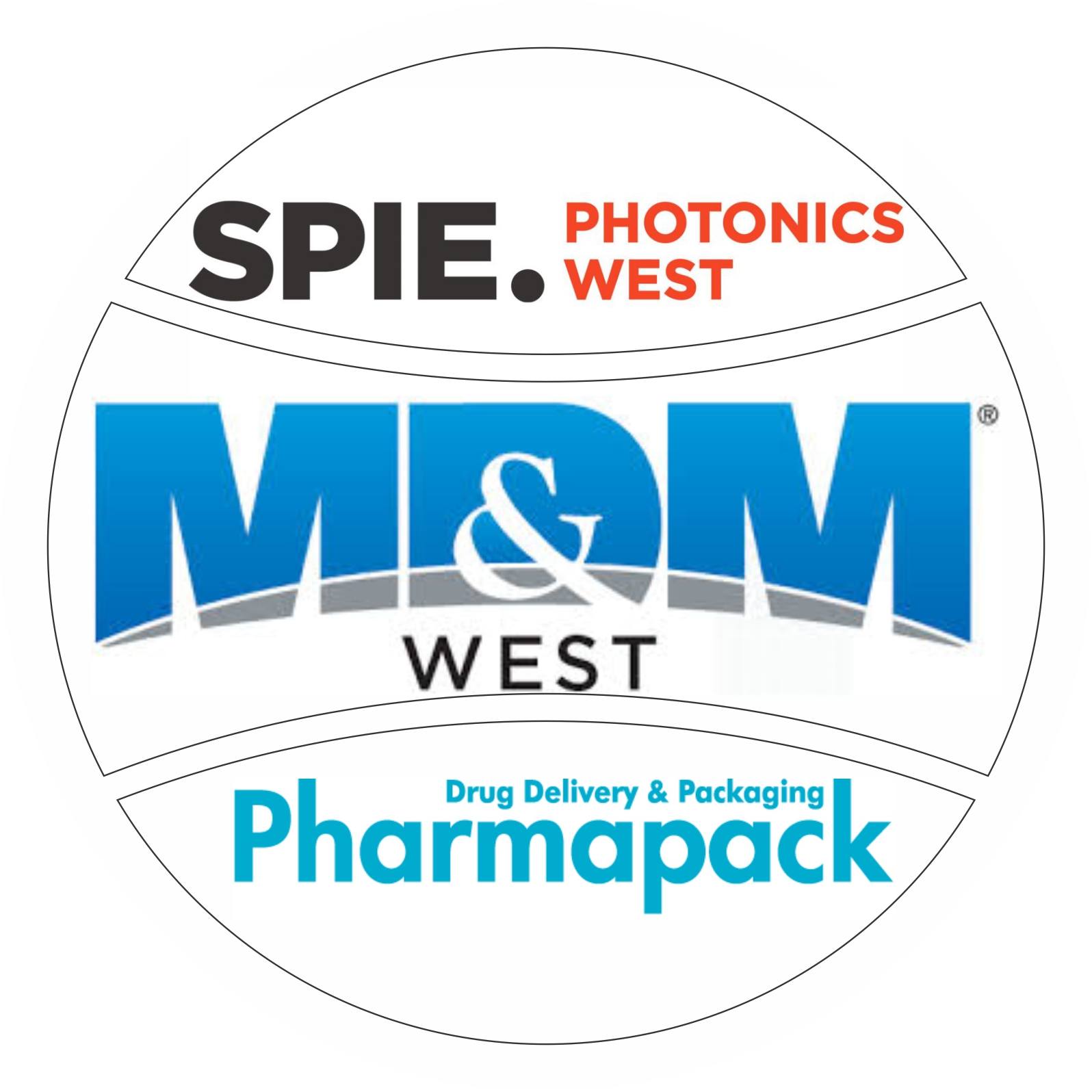 Photonics West – MDM West – Pharmapack